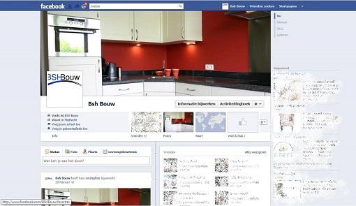 BSH Bouw nu ook op Facebook