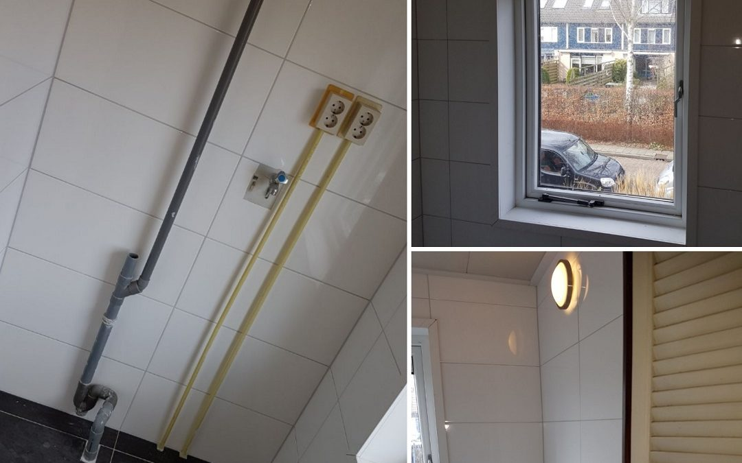 Renovatie waskamer Mijdrecht