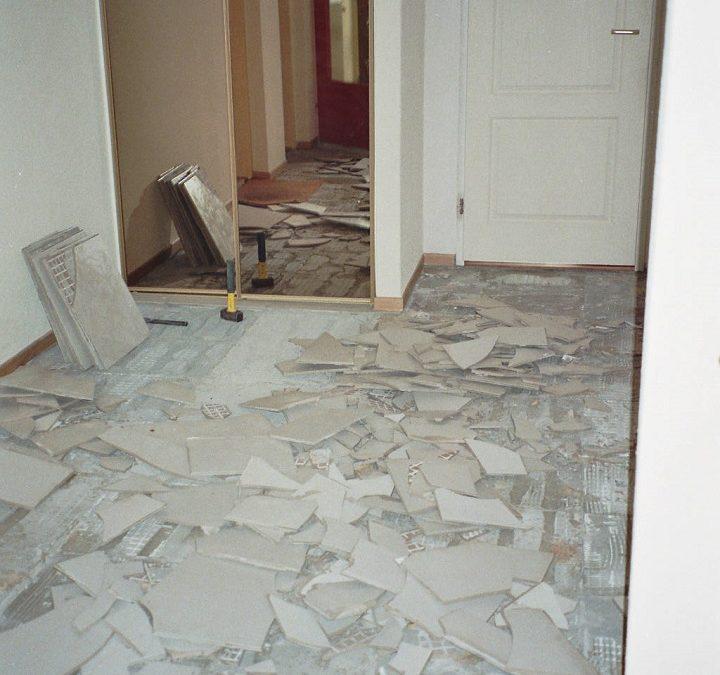 Voortgang renovatie appartement Mijdrecht