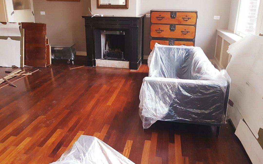 Aanvang werkzaamheden renovatie appartement Amsterdam